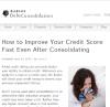 Improving Credit'
