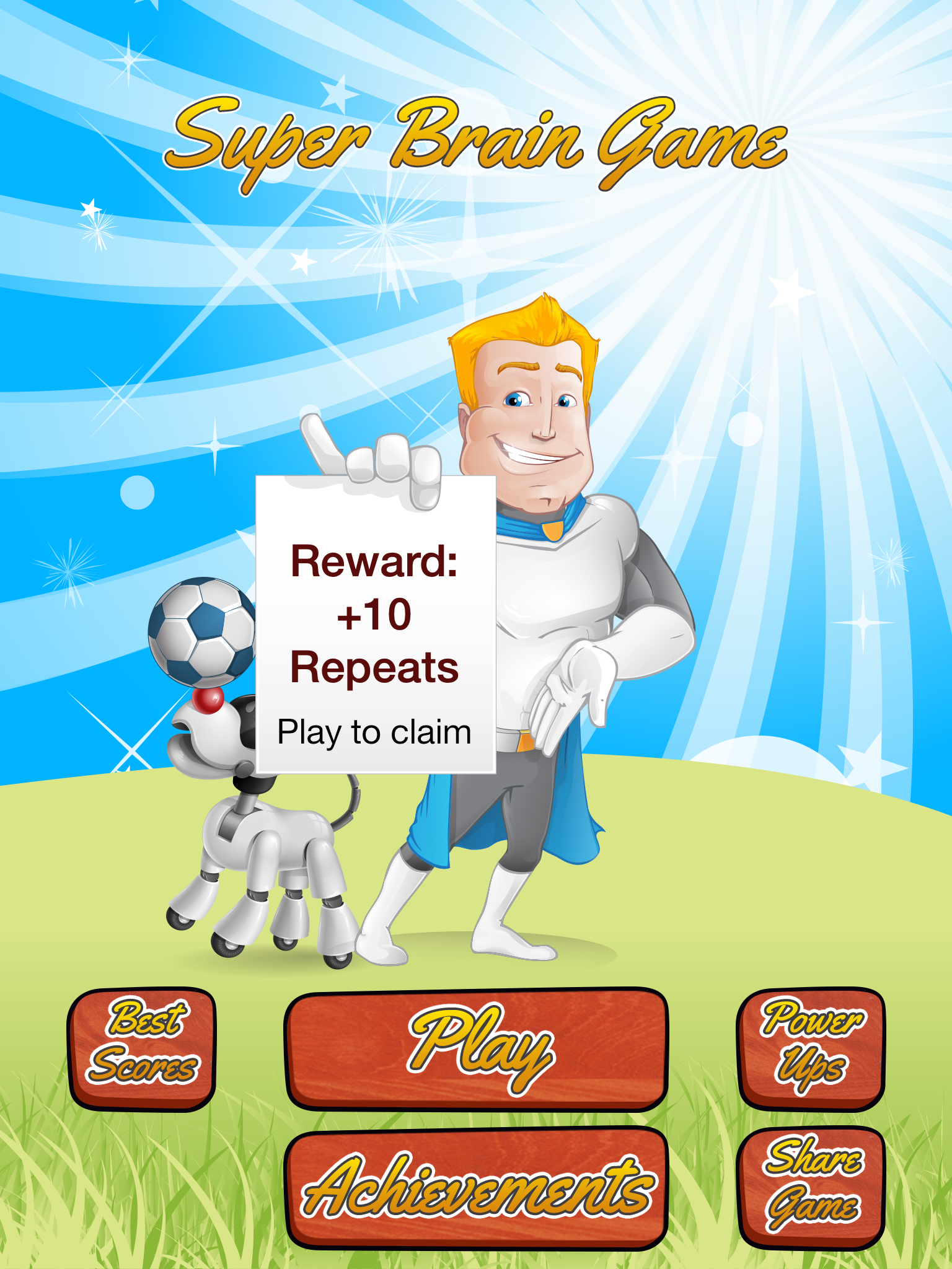Super Brain Game [iPad]