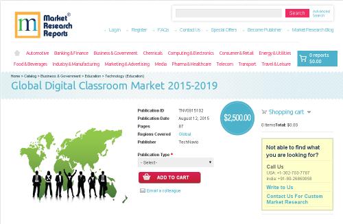 Global Digital Classroom Market 2015-2019'