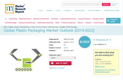 Global Plastic Packaging Market Outlook (2014-2022)'