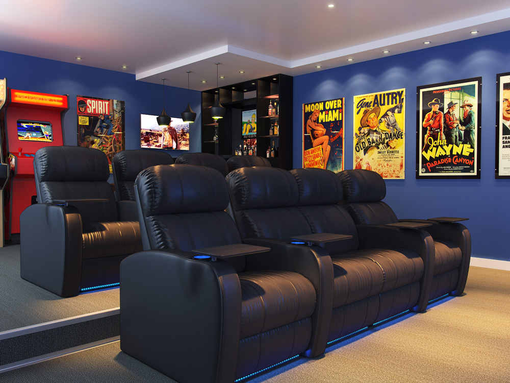 Octane Diesel Home Theater