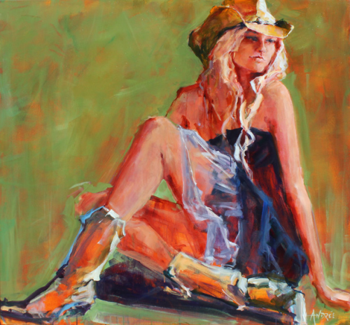 Andrée Hudson, Cowgirl Dreaming'