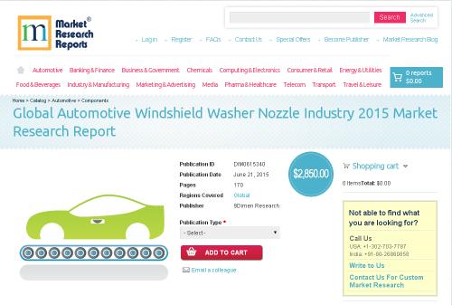 Global Automotive Windshield Washer Nozzle Industry'