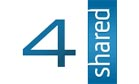Logo for 4shared'