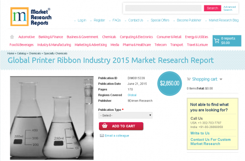 Global Printer Ribbon Industry 2015'