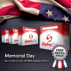 Memorial Day Scheme of Safe Cig'