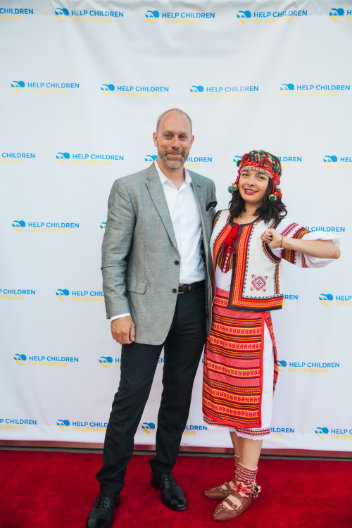 Ukrainian Kids Benefit Party in Los Angeles'
