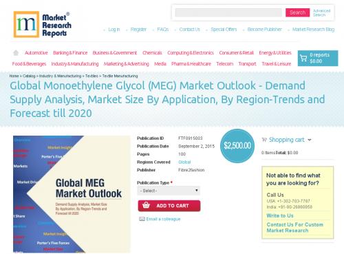 Global Monoethylene Glycol (MEG) Market Outlook'