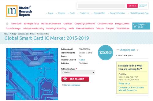 Global Smart Card IC Market 2015-2019'
