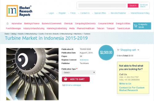 Turbine Market in Indonesia 2015-2019'