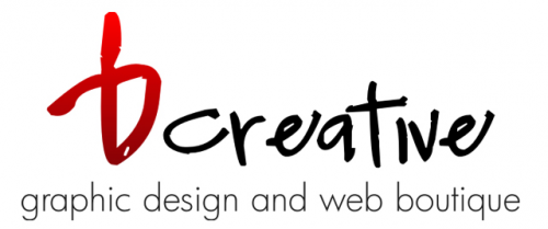 Logo for bCreative - Graphic Design and Web Boutique'