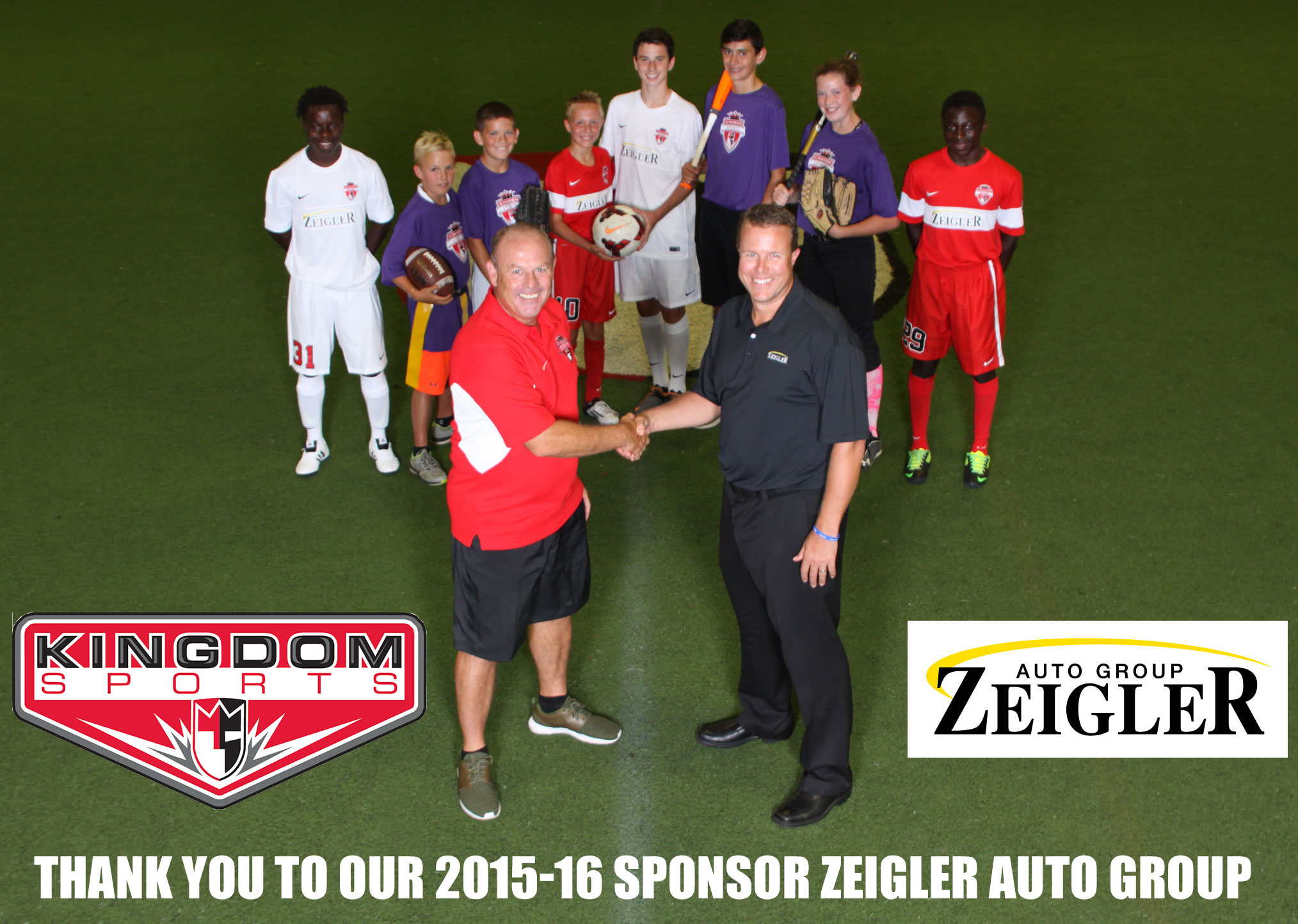 Zeigler Auto Group and Kingdom Sports