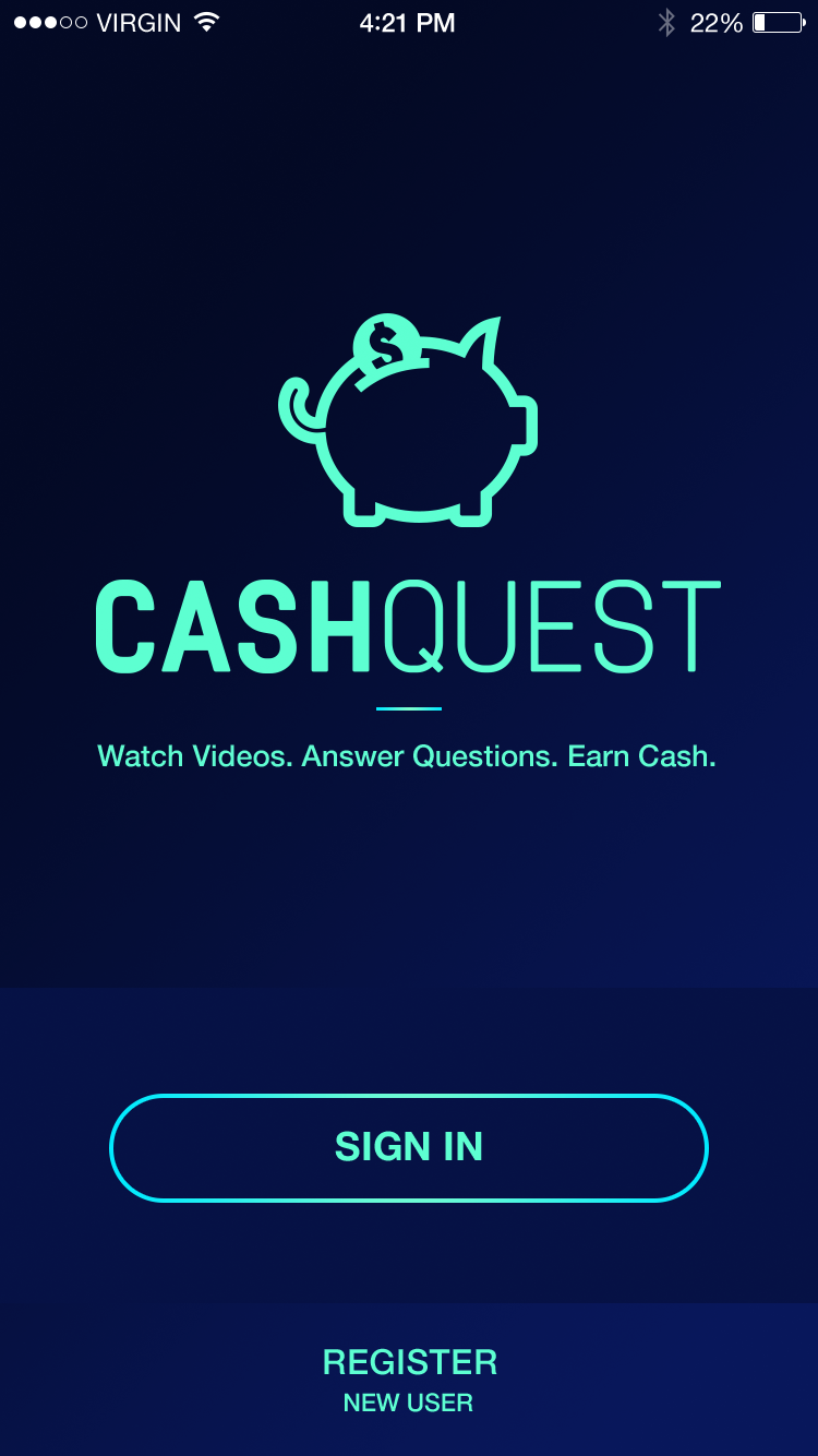 Cash Quest App from Effective Commercial Advertising