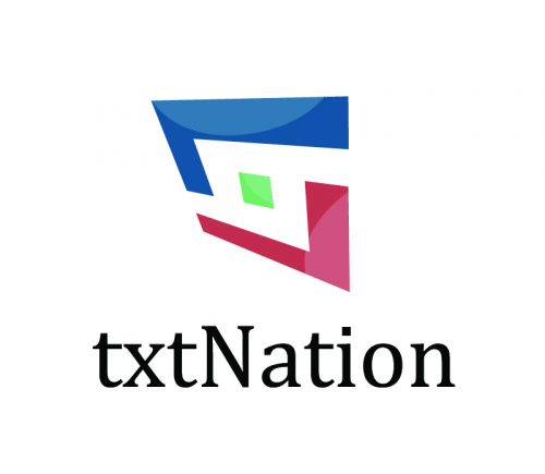 Logo for txtNation'