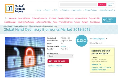 Global Hand Geometry Biometrics Market 2015-2019'