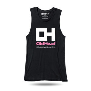 OldHead Clothing Because Girls Ride Too Tank Top