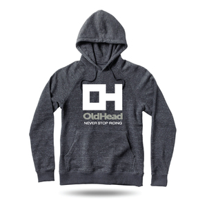 OldHead Clothing Never Stop Riding Hoodie