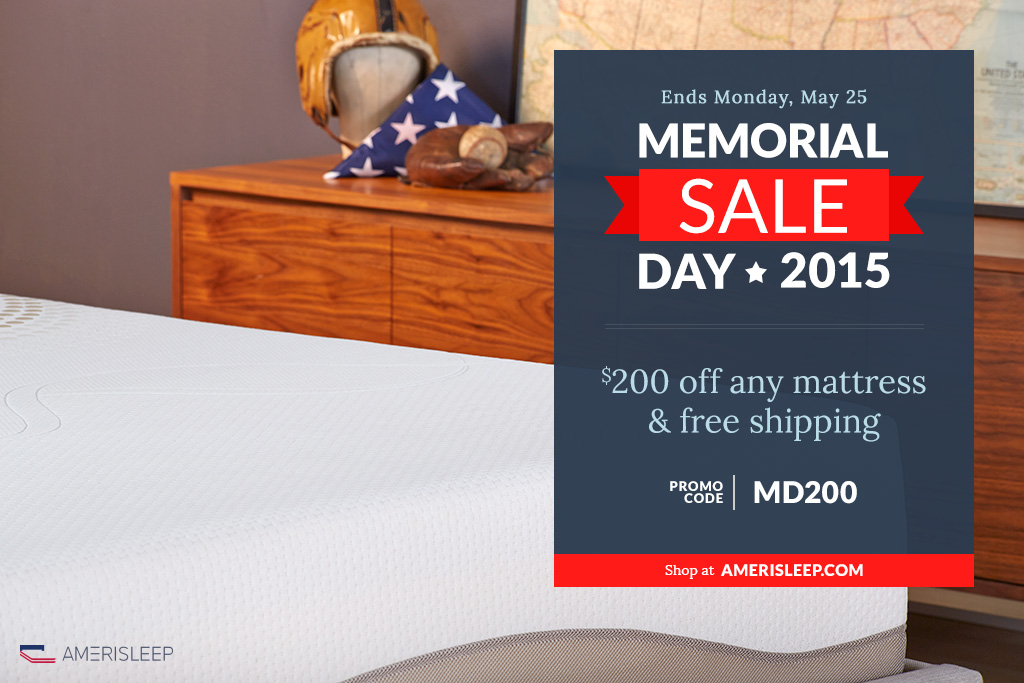 Amerisleep Announces 2015 Labor Day Mattress Sale