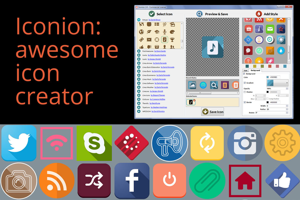 Iconion launches the new v2.7 of Icon Maker