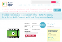 IP Video Marketplace Monetization 2015 – 2018