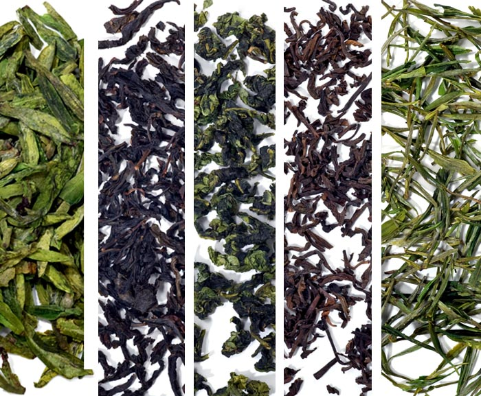 historic chinese teas
