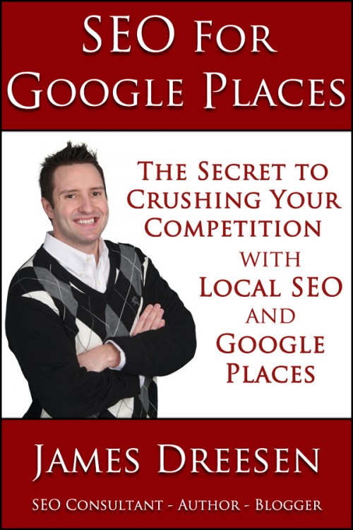 SEO for Google Places Book Cover'