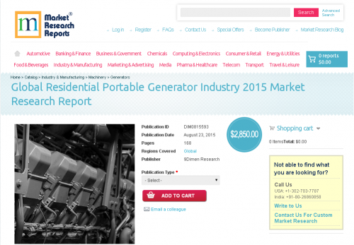 residential portable generator market size $2,50000   rerport forecast the residential portable generator market in the us to grow at a cagr of 946% over the period 2015-2019.