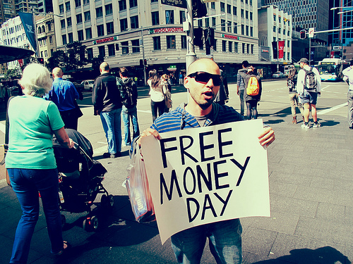 Free Money Day in Sydney