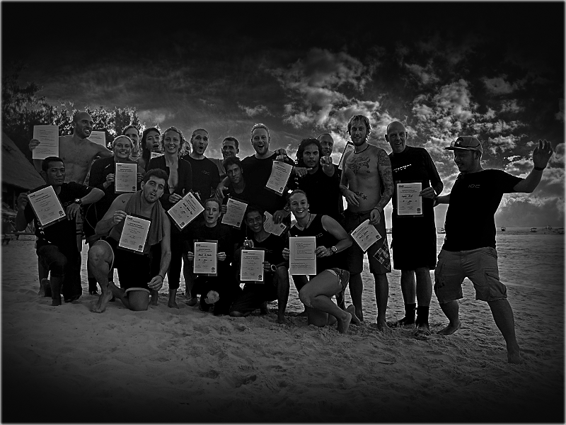 PADI IDC Gili Islands Indonesia