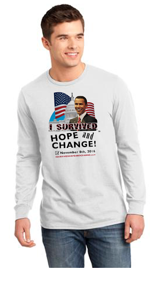 ISurvivedHopeandChange.com Men's T-Shirt