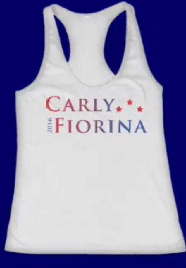 Carly Fiorina Tank Top at ISurvivedHopeandChange.com