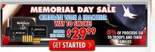 Memorial Day celebration by South Beach Smoke'