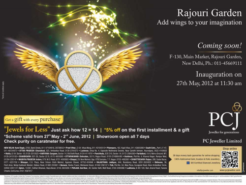 Rajouri Garden, get ready to unfurl your Imaginations!'