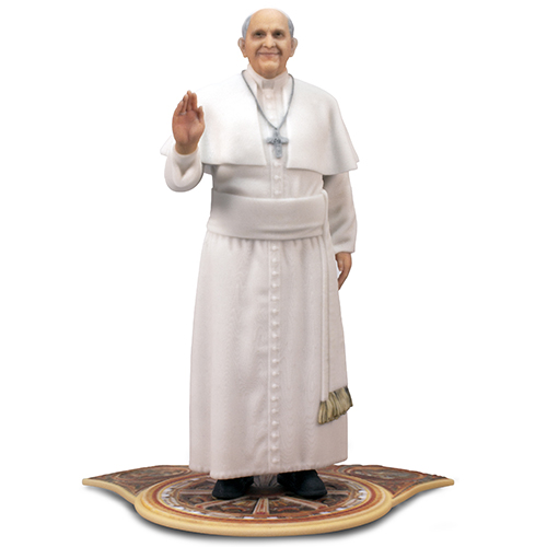 Pope Francis 3D Printed Collectible Figurine'