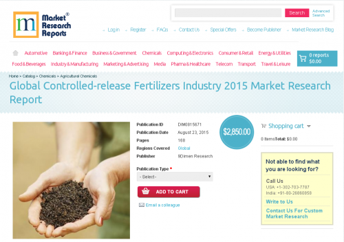 Global Controlled-release Fertilizers Industry 2015'