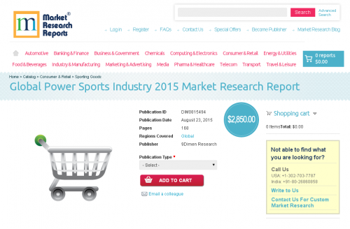 Global Power Sports Industry 2015'