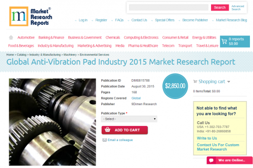 Global Anti-Vibration Pad Industry 2015'