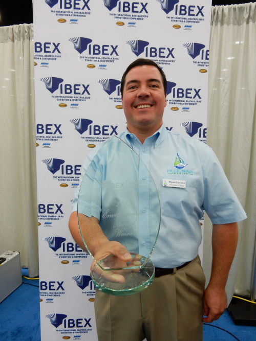 Blue Gas Marine, Inc. Wins 2015 IBEX Innovation Award'