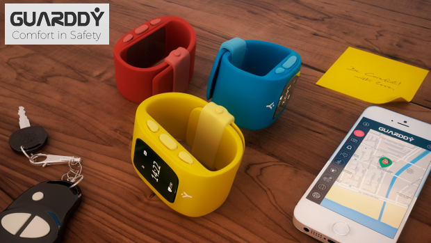 GUARDDY GPS Safe Watch