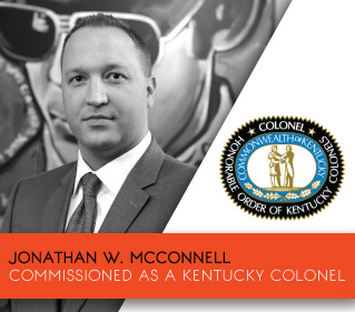 Jonathan W. McConnell Kentucky Colonel