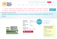 Global Warehousing and Storage: Market Research Analysis