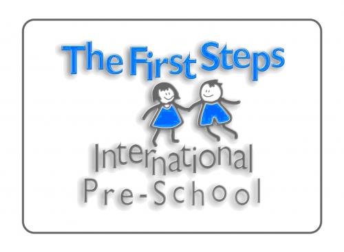 Logo for The First Steps International Pre-School'