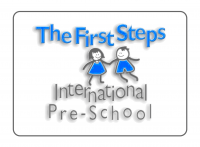 The First Steps International Pre-School Logo