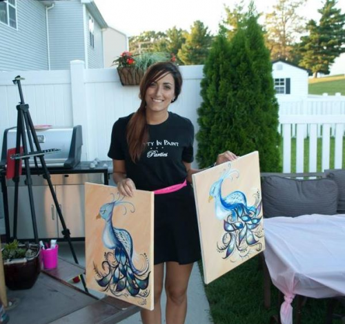 Pretty In Paint Parties Artist'