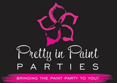 Company Logo For Pretty In Paint Parties'