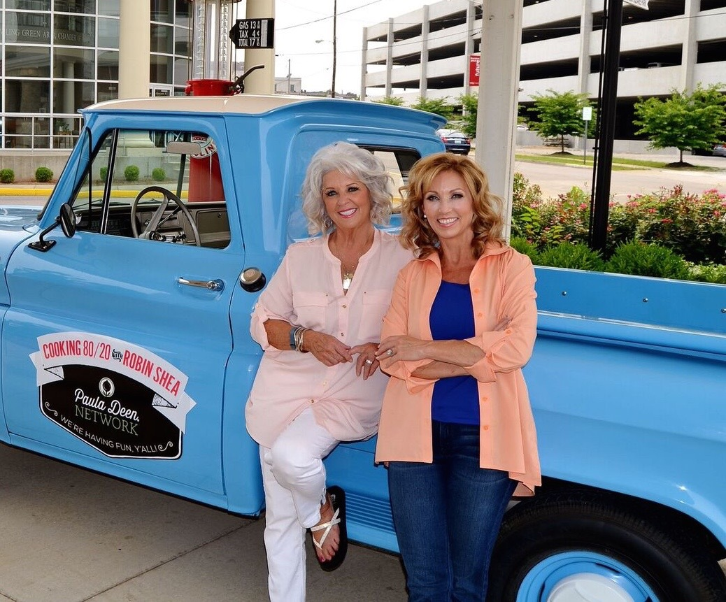 Robina Shea and Paula Deen