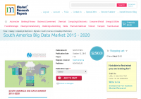 South America Big Data Market 2015-2020