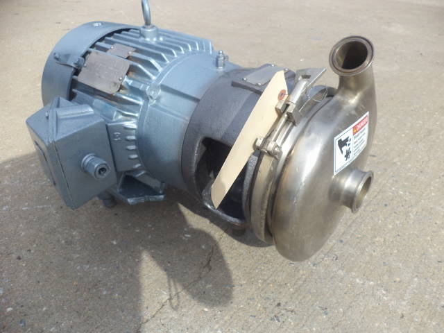 Crepaco 2 in. x 1-1/2 in. SS Sanitary 7.5H Centrifugal Pump