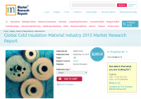 Global Cold Insulation Material Industry 2015