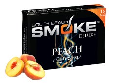 Peach flavor of South Beach Smoke'